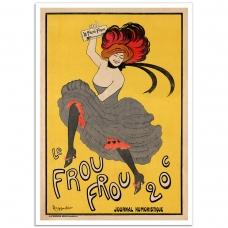 Vintage Promotional Poster - Le Frou Frou 20
