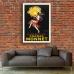 Vintage French Promotional Poster - Cognac Monnet