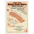 Railway Station Reserve Malvern - Vintage Australian Poster