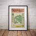 Mount Olinda Estate Lilydale - Vintage Australian Poster